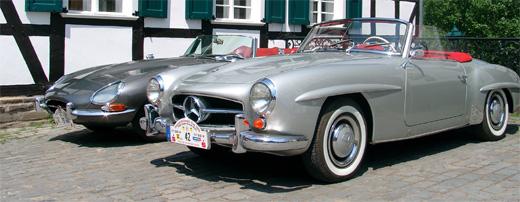Oldtimer Treffen in Hagen - Mercedes Cabriolet