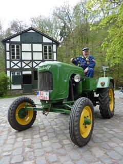 Bild zum Artikel: Mehr als 120 Trecker im LWL-Freilichtmuseum Hagen