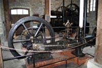 Freilichmuseum Hagen - Schwungrad von Martinator