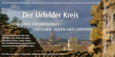 Bild zum Artikel: Film-Matinee - DER URFELDER KREIS